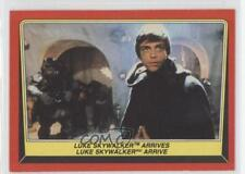 1983 O-Pee-Chee Star Wars: Return of the Jedi 33 Luke Skywalker Arrives Card 0i7