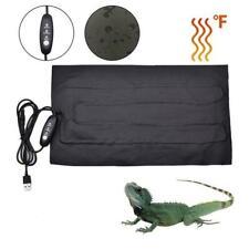 9W Reptile Vivarium Heat Mat Heating Warm Heater Pad With Thermostat Controller