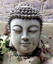 Large Beautifully Detailed Buddhas Head Statue , For The Home Or Garden.