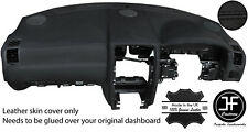 BLACK STITCH TOP DASH DASHBOARD LEATHER COVER FITS FITS CHRYSLER 300C 2005-2011