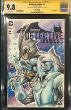 SHELBY ROBERTSON ORIGINAL Sketch Art CGC 9.8 Signed Batman Mr. Freeze not CBCS