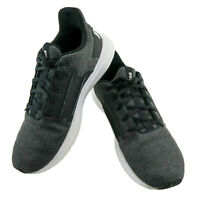 Puma Enzo Street Knit Mens 10.5 Black Casual Lace Up Shoes 19107601