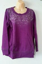 New Rainbeau Women's Plus-Size Pullover with Embellishment size 1XL
