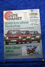 Gute Fahrt 1/80 VW Iltis VW Bus Diesel Golf Passat Audi 100