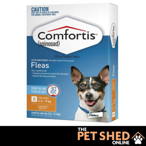 Comfortis Orange Flea Treatment Control for Dogs - Chewable Chews  - All Sizes