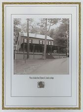 ULYSSES S. GRANT Cottage home tiny slate piece, Civil War, relic, swatch