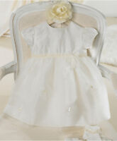BNWT MAMAS AND PAPAS GIRLS CHRISTENING DRESS SIZE 3 6 9 12 18 24 MONTHS WEDDING