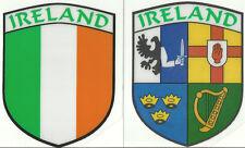 2er Set Irland Irisch Schildform innen Autofenster Aufkleber Aufkleber