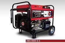 GRUPPO ELETTROGENO MODELLO ZBG 6500E3 AVVIAMENTO ELETTRICO 230V/50HZ TRIFASE