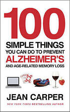 100 Simple Things You Can Do to Prevent Alzheimer's and Age-Related-ExLibrary