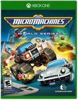 Micro Machines World Series XBOX One Family Kids Fun Racing Game XB1 S X