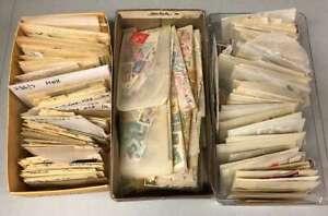 D1954: Old Time Estate Stamp Lot; 3 Shoeboxes, Better