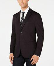 $399 Ryan Seacrest Men'S Red Fit Plaid Suit Jacket Blazer Sport Coat Size L