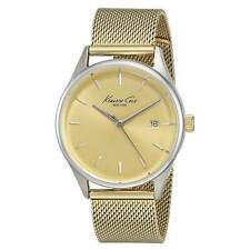 Kenneth Cole 10029401 Women's Yellow Steel Mesh Bracelet Watch