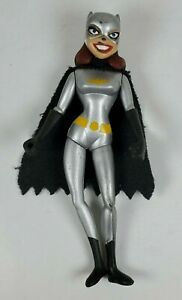 "DC Batman The Animated Series Batgirl 4"" Tall Action Figure 2003 Mattel"