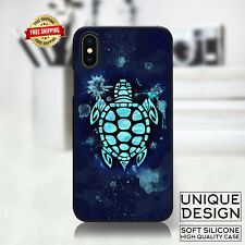 Cute Sea Turtle Phone Case Samsung Galaxy S10 S9 Huawei iPhone Case Gift Idea
