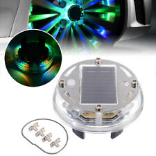 12 LED RGB 4 Mode Car Solar Energy Flash Wheel Tire Lights Lamp Decoration