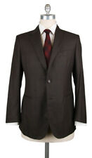 New $4200 Stile Latino Brown Super 120's Solid Suit - 40/50 - (VAULUCA30B0M30)