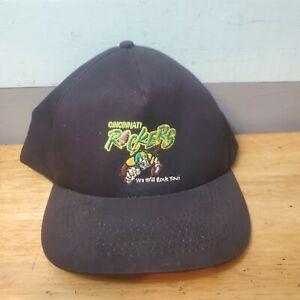 Vintage Cincinnati Rockers Arena Football Snapback Hat Cap