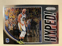 2019-20 Panini Prizm Stephen Curry Get Hyped! Insert #4 - ** MINT! WOW!! **