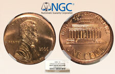 2006 1C NGC MS64RD Mint Error 5%Off Ctr - RicksCafeAmerican.com