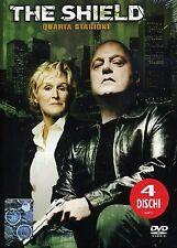 COFANETTO DVD - THE SHIELD STAGIONE SERIE 4 SERIE TV (4 DVD) - Nuovo!!