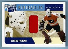 BERNIE PARENT 2001/02 BE A PLAYER BAP BETWEEN THE PIPES GAME WORN JERSEY