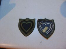 MILITARY PATCH SEW ON US ARMY SUBDUED 24TH CORPS VERY OLD