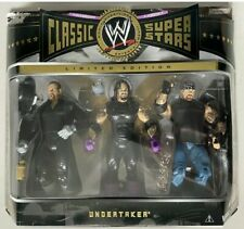 Undertaker classic superstars Jakks figure MOC 3 pack limited wwe wwf ecw
