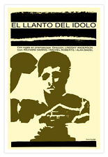 Decor Graphic Design movie Poster 4 film IDOL Cry.Boxing Boxer Art.Spanish Decor