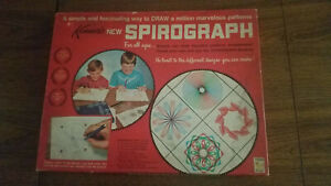 Vintage 1967 Kenner's New Spirograph Complete with Instructions No. 401