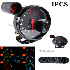 Universal 5Inch 1000K Car Tachometer Gauge Warning Light LED Shift Light Black