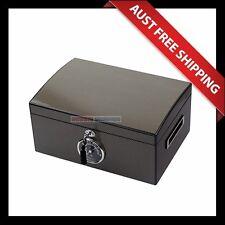 Somerton Cigar Humidor, 100+ Cedar wooden Cigar Box, Humidifier & Hygrometer