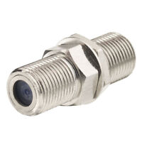 F Female to F Female Bulkhead Straight RF Connector Adapter