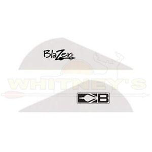 "Bohning 2"" Blazer Vanes 100 Pack - White - 10832WH2"