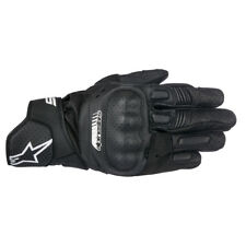 Alpinestars SP-5 Leather Motorcycle Motorbike Gloves Finger Bridge Black S-XXXL