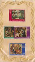 (V4-75) 1968 Togo old stamp pack 4stamps paintings (BU)