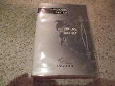JAGUAR 2010-2011 SAT NAV DISC SET 3 SATELLITE NAVIGATION DVD ROM FREE P&P EUROPE