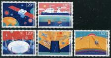 Science Technology mnh 5 stamps 2017-23 China PRC satellite ship planets