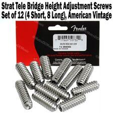 Genuine Fender Am Vintage Strat Tele Saddle Height Adjustment Screws 0994928000