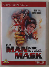 THE MAN IN THE STEEL MASK / 1975 CULT MOVIE / PROTO CYBER PUNK / REGION 0 PAL