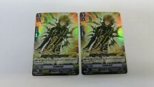 2x YELLOW BOLT   BT07/019EN RR RAMPAGE OF THE BEAST KING VANGUARD CARDFIGHT  NM