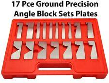 "17 Piece Ground Precision Angle Block Sets Plates 3-1/4"""