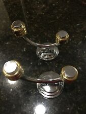 Solid Brass Double Towel Holders