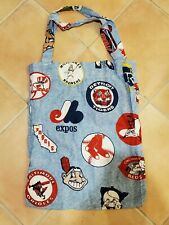 Vintage Custom 1960s MLB Tote bag old logos 18x24 Expos Red Sox Indians Reds etc