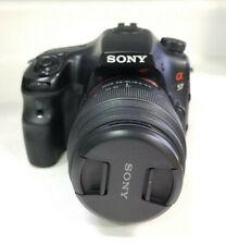 Sony SLT-A57 16.1 MP Digital SLR Camera - Black (with DT SAM 18-55mm Lens)