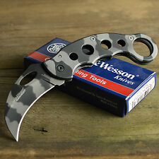 Smith & Wesson Extreme Ops Urban Camo Tactical Karambit Folding Knife CK32C