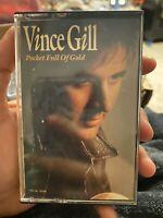 Pocket Full of Gold by Vince Gill (Cassette, Mar-1991, MCA)