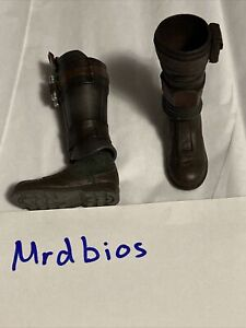 Hot Toys Star Wars 1/6 Mandalorian TMS014 Loose Boots And Shin Guards