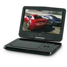Portable DVD Player Swivel LCD Screen Display Digital Volume Control Black 10""